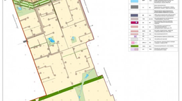 Карта градостроительного зонирования границ территориальных зон Дедуровского поселения