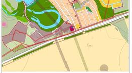 Карта градостроительного зонирования границ территориальных зон